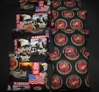 USMC USA Marines Military Patriotic Flag 8 ACA regulation Cornhole bags