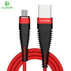 FLOVEME Micro USB Android Charger Cable 2M Braided Data Sync Fr Samsung Xiaomi