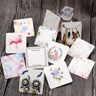 100pcs Paper Card Earring Display Hanging Earring Ear Studs Jewelry Showing Card