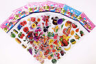Hot Cute Cartoon 3d Favors Partypuffy Pvc Wall /Cars Stickers Kid Halloween Gift