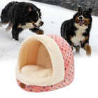 1PC Warm Classic Half Dome Design Pet Dog Cat Bed Round House Cat Nest Dog House