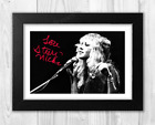 Stevie Nicks Fleetwood Mac (3) A4 reproduction signed poster. Choice of frame.