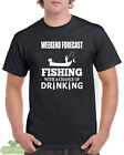 Weekend Forecast Fishing With a chance Of Drinking Funny T-Shirt Gift