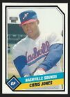 1989 CMC Nashville Sounds Minor League Baseball card - Pick your player