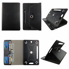 TABLET CASE FOR 7 UNIVERSAL GALAXY TAB 3 ROTATING PU LEATHER CARD CASH  POCKET