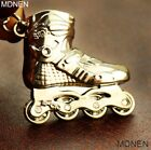 1PC Sport Goods Hanger Keychains Mini Roller Skates Key Chain Keyrings Accessory