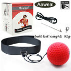 Boxing Training Fight Ball with Band Reflex Speed Reaction Punch Muscle Exercise
