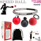 Kyпить Boxing Fight Ball with Head Band Speed Training Reflex Reaction Gym Exercise на еВаy.соm