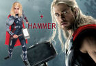 Thor Costume Child Boys The Avengers Superhero Muscle Cosplay Halloween