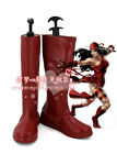 Marvel Elektra Natchios cosplay red boots shoes  4073