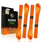 RHINO USA Soft Loop Motorcycle Tie Down Straps - Guaranteed 10,427lb Max Break S