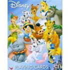 Multi Style Disney Villains Heroes Cardinal Classic Playing Cards New Free Ship