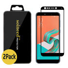 {1-10Pack} SOINEED® Asus ZenFone 5Q ZC600KL FULL COVER Tempered Glass Protector
