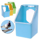 Bird Feeder Water Food Feeding Plastic Parrot Cage Pigeon Drinking Bowl Device