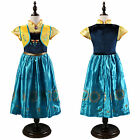 Girls Dresses Princess Child Anna Elsa Xmas Cosplay Kids Costume Party Dress Lot