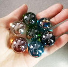 Lot 5pcs 25mm Mix Colors Glass Beads Marbles Kid Toy Fish Tank Decorate