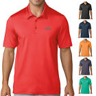 adidas Golf Mens Ultimate 365 Solid Moisture Wicking Polo Shirt Top