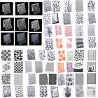 Внешний вид - Plastic Embossing Folder Stencil DIY Scrapbooking Template Paper Cards Craft 1pc