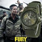 Men Nylon band Military watch image