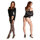 Cecilia de Rafael Sevilla 15 Bas High Shine Thigh High Stay Up Sheer Stockings