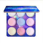 9 Colors Highlighter Palette Face Brighten Highlighter Eyeshadow Cosmetic Beauty