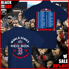 Men's Boston Red Sox 2018-2019 World Series Champions Sinker T-Shirt Cotton Tee image