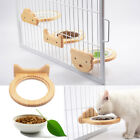 Hang Food Feeder Water Dishes Hanging Ceramic Bowls For Pet Dog Cat Bird Cage
