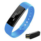 ID115HR Smart Watch Wristband Bracelet Heart Rate Monitor Fitness fr IOS Android