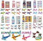 4 FLYING GLIDERS Childrens Birthday Party Loot Bag Toys Xmas Stocking(1C)Fillers