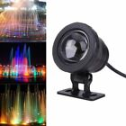 10W RGB LED Light Fountain Pool Pond Spotlight Underwater IP68 Lamp Decor F1