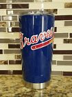 Atlanta Braves Tumbler (20 or 30 oz Powder Coated) - FREE SHIPPING on Ebay