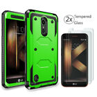 For LG Phoenix 4/Rebel 4/Fortune 2/Zone 4 Phone Case Cover With Screen Protector