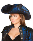 Captain Of The Night Pirate Hat - Roma Costume H4652