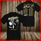 Bob Seger Tour Dates 2018 2019 T Shirt Fan Music T-Shirt S-6XL Men Black Cotton  image