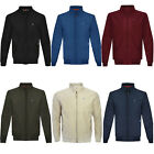 Lambretta Mens Target Logo Shower Resistant Casual Retro Harrington Jacket Coat