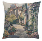 Streetlight in Ivy Jacquard Woven Cushion Cover Art Home Decor Accent Pillow