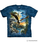 The Mountain 100% Cotton Unisex Adult's T-Shirt Find 11 Eagles NWT.
