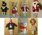 Внешний вид - Holiday Wine Bottle Covers - Valentines Day, Thanksgiving or Christmas  - NWT