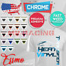 ESSMO Stretchable Weed Foil Chrome Heat Transfer Vinyl Sheets Iron On Heat Press