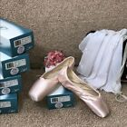 New LEOS Inspiration Full Pointe Ballet Shoes W D STYLE 0052 Various Sizes