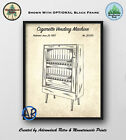 Cigarette Vending Machine Patent Art Print  Cigarette Vending Machine Poster