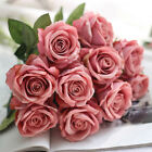 Valentine's Day Gift Artificial Fake Roses Flannelet Flower Wedding Home Decor