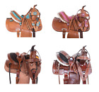 Youth Saddle 14 13 12 Western Pleasure Trail Kids Children Horse Tack Set