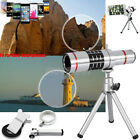 For iPhone XR 8 7 Samsung Camera Lens 18xZoom Telephoto Telescope+Tripod w/ Clip