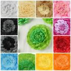 7 9 11 in Paper Carnations Flowers Wall Backdrop Party Event Wedding Decorations