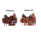 Trail Saddle 16 17 18 in Classy Cowboy Premium Leather Western Horse Tack Set