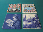 LOT OF TILES HOLLAND DELFT AND AMERICAN BERGREN  IL. USA TILES - PICK ONE