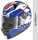 Shark Ridill Stratom Gloss Red White Blue RMotorcycle Helmet Motorbike Scooter