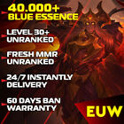 League of Legends LoL EUW Account 30-40 Level accounts Smurf BE IP Unranked  PC <br/> 🔥Unranked & Unverified🔥🔰 BAN Warranty 💎TOP Rated💎