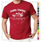 Camel Towing Funny T Shirt Adult Humor Rude Gift Tee Shirt Tow Truck Unisex Tee image